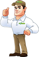 The Lawn Techs Logo Mascot